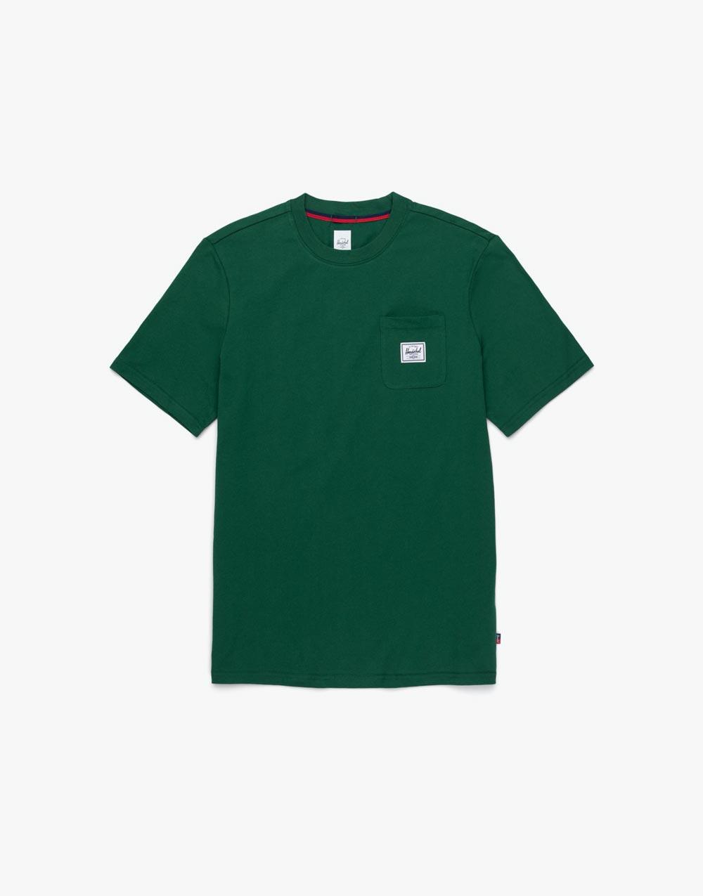 Green Pocket Tee