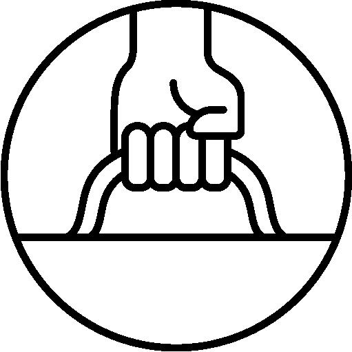 icône de description Poignées renforcées