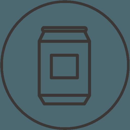 icône de description Contenance 32canettes