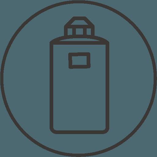 icône de description Porte-bouteille isolant amovible