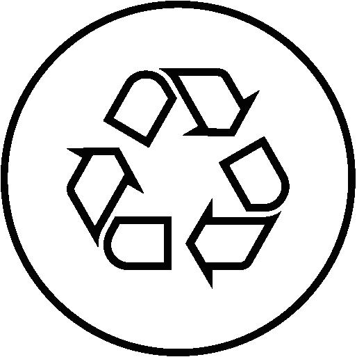 icône de description Tissu recyclé