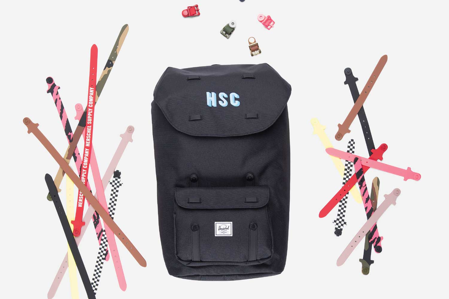 Start with the classic backpack - Choose your favorite color