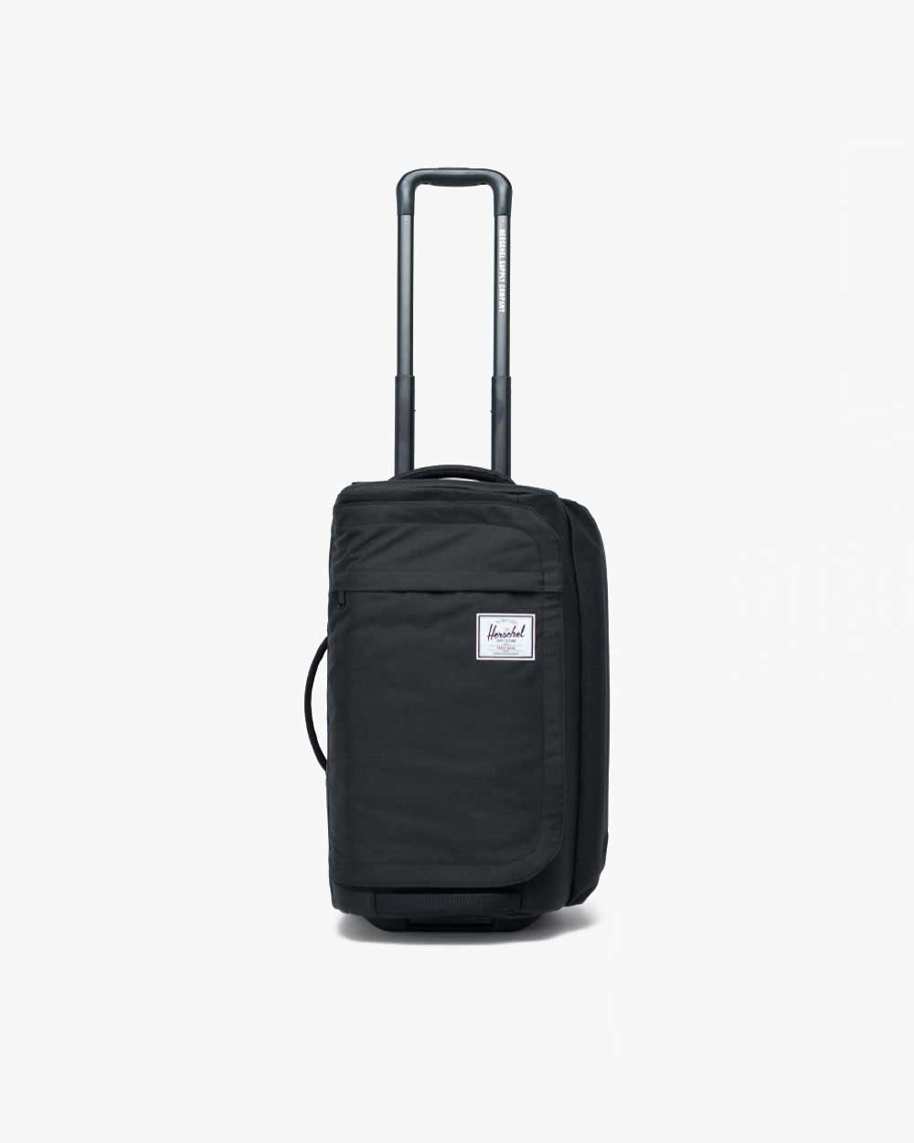 image of a black outfitter 50 litre luggage