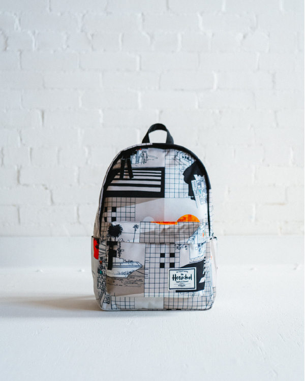 A World Travel Classic Backpack XL from the Evan Hecox Collection