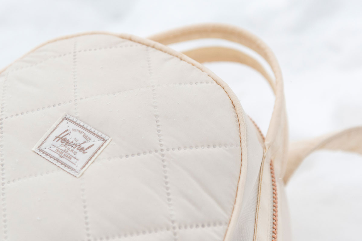 Quilted fabric from inspired by her uniform on the snow planet Hoth™